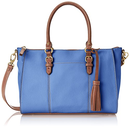 Tignanello Everyday Casual Pebble Leather Satchel Top Handle Bag
