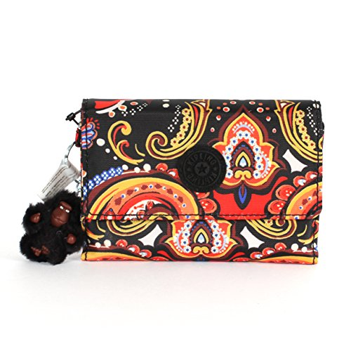 Kipling Pixi Medium Wallet Warm Paisley