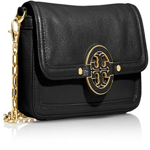 Tory Burch Black Amanda Mini Cross Body Bag