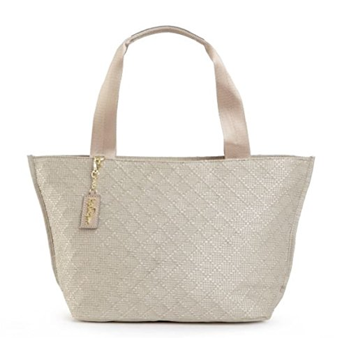 Kipling Bethune Tote Bag Satchel Handbag (Butter Cream)