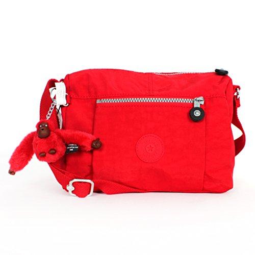Kipling Wes Messenger Shoulder Bag Tango Red