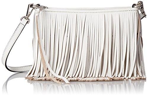 Rebecca Minkoff Finn Clutch Cross Body Bag, White, One Size