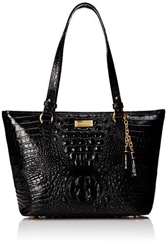 Brahmin Medium Asher Shoulder Bag, Black, One Size