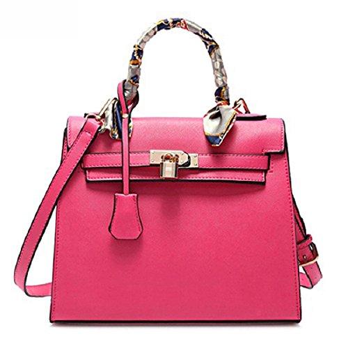 RW Collections Handbag, ALEE Fashion Designer Satchel Purse Crossbody Bag Handbag