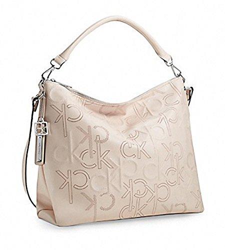 Calvin Klein Kenzie Hobo Bag Purse Handbag Pink