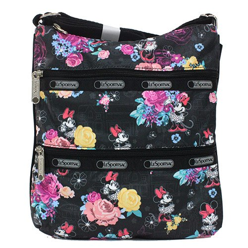 LeSportsac Disney Minnie Mouse Kylie Crossbody, Minnie's Floral Park