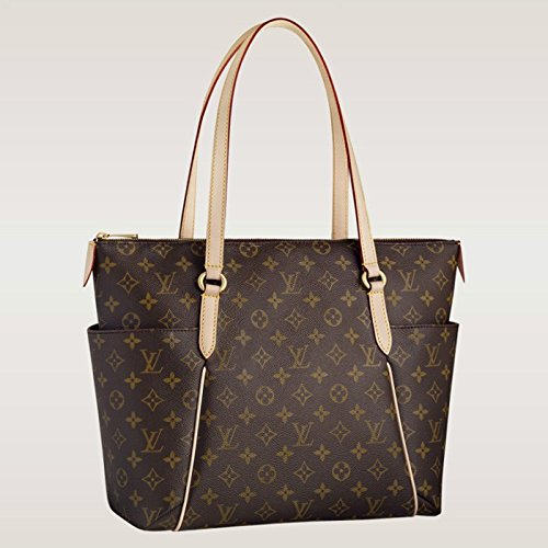 LOUIS V BAGS Monogram Handbags for Women Original:MONOGRAM CANVAS TOTALLY MM of Coated Leather Wallet Canvas on Clearance.