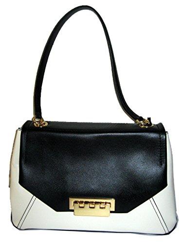 ZAC Zac Posen Shoulder Bag – Eartha Envelope Colorblock,black/white