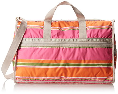LeSportsac Large Weekender Handbag,Bahia Stripe,One Size