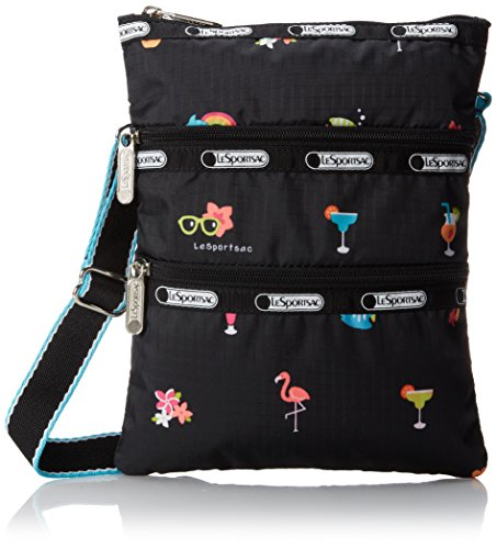 LeSportsac Kasey Cross-Body Handbag,Happy Hour,One Size