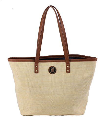Tommy Hilfiger Linen Tote Handbag, Linen