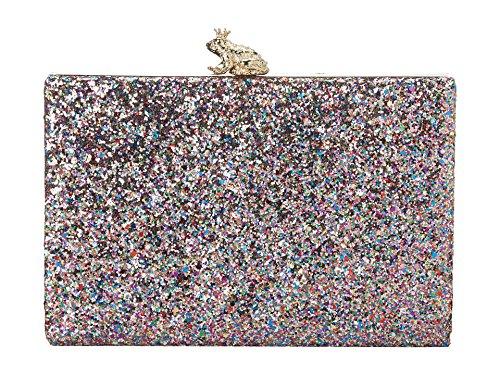 kate spade new york Emanuelle Frame Glitter Clutch