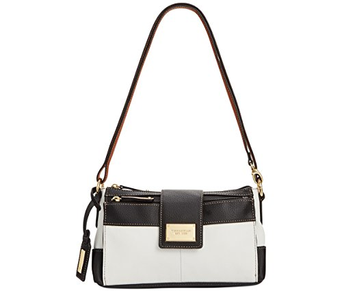 Tignanello Social Status Function Crossbody in White/Black