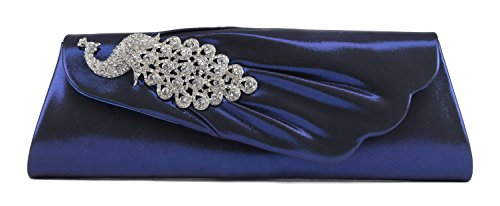 Scarleton Flap Clutch with Crystals H3155