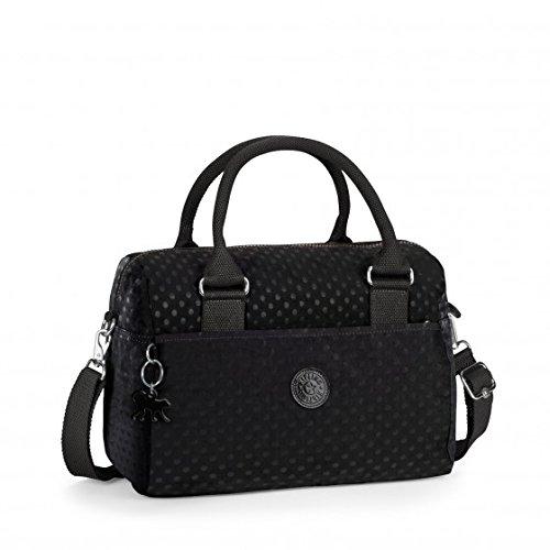 Kipling Beonica Black Dot Emb Handbag