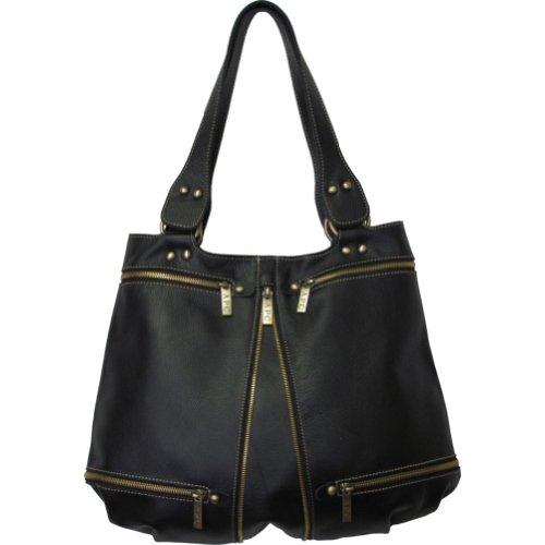 Amerileather Rila Zip Leather Bag (#1881-0147)