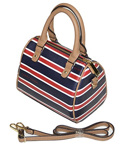 Tommy Hilfiger Women's Stripe Convertible Small Satchel