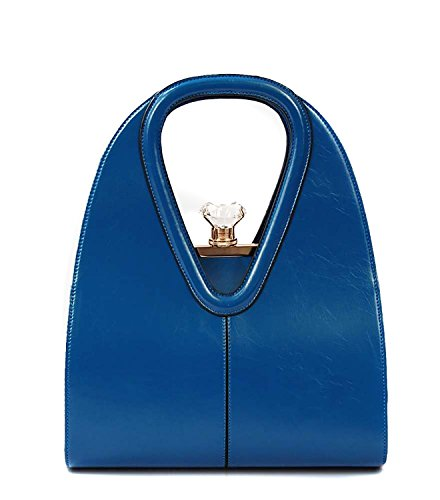 Anne Top Handle with Large Jewel Handbag Purse