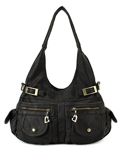 Scarleton Chic Multi Pocket Shoulder Bag H1689