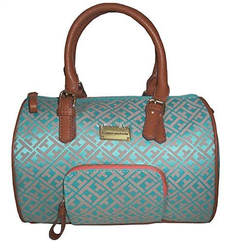 Tommy Hilfiger Satchel Handbag Turquoise