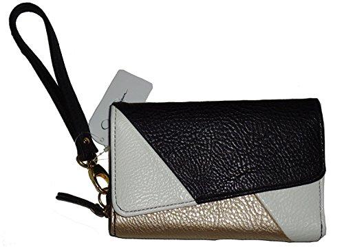 Jessica Simpson Wristlet Clutch Handbag Zip Around Wallet