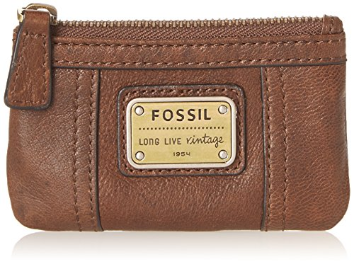 Fossil Emory Zip Coin SL2933 Wallet,Black,One Size