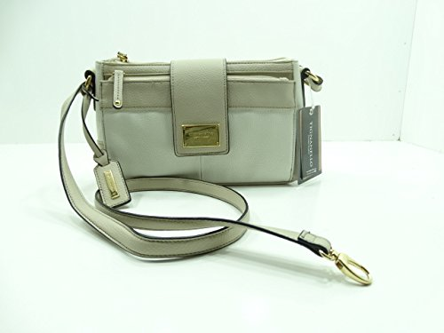 Tignanello Social Status Function Cross-body White/sand Leather