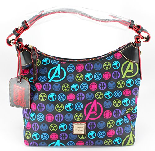 Disney Dooney & Bourke Disneyland Avengers Half Marathon Nylon Satchel Bag