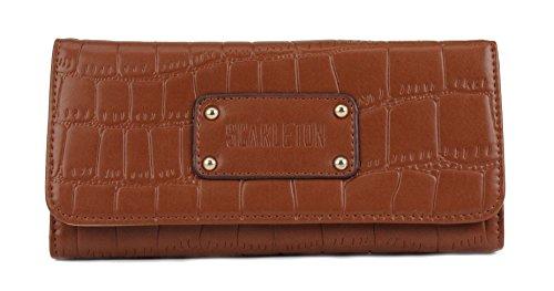 Scarleton Croc Embossed Wallet H3249
