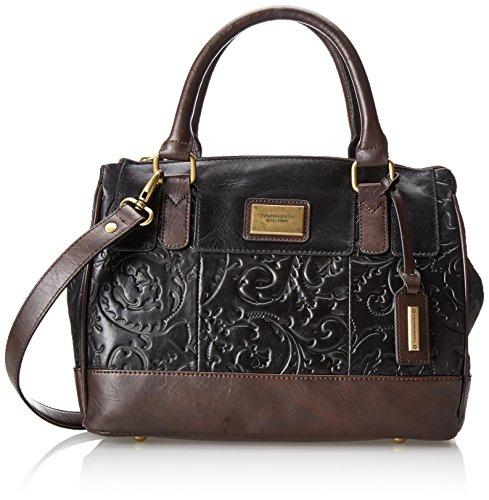 Tignanello Classic Beauty Status Satchel Mix Top Handle Bag