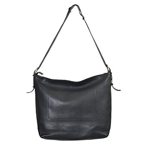 Gucci Black Leather Cross Body Messenger Shoulder Bag