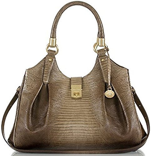 NEW AUTHENTIC BRAHMIN ELISA CARRYALL SHOULDER TOTE (Sable Fashion)