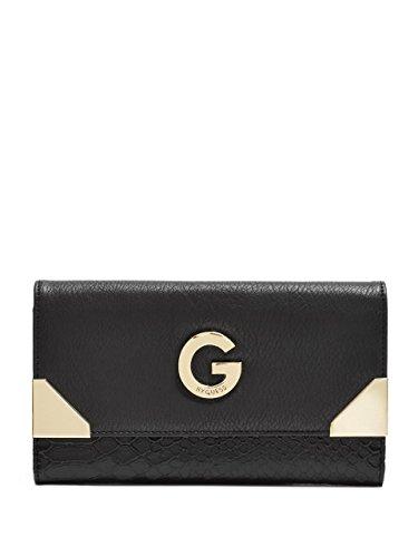 G by GUESS Women's Arrabella Metal-Corner Wallet