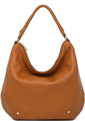 Furla Alissa Hobo Bag New Cognac