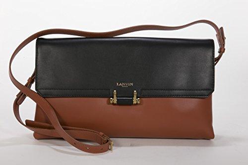 Lanvin Havana Calfskin Clutch Bag – Havanna