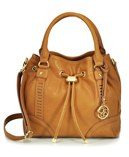 Jessica Simpson Erica Drawstring Shoulder Bag, Safari