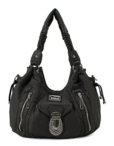 Scarleton Accent Laced Shoulder Bag H1697