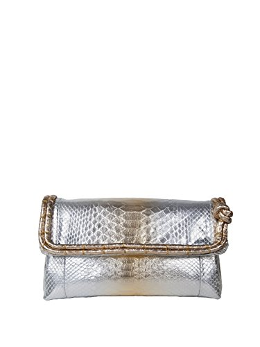 Cashhimi Women's Florida Envelope Python Clutch
