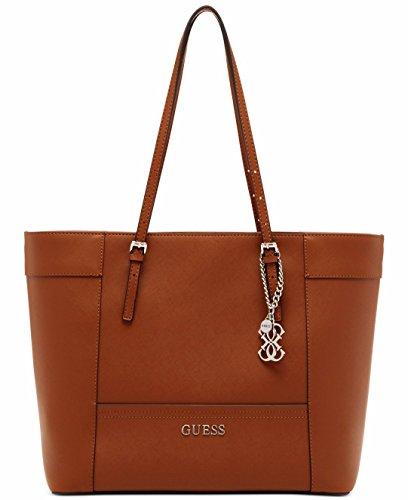 GUESS Delaney Women's Tote Bag, Cognac