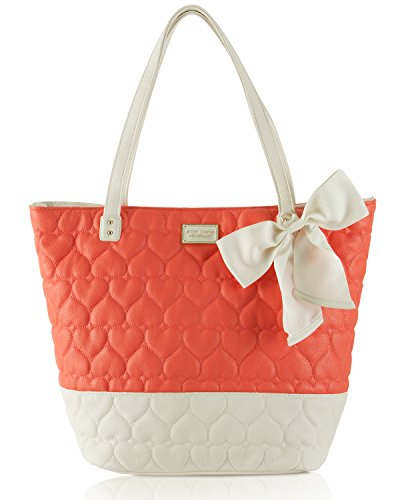 Betsey Johnson Be Mine Key Item Shoulder Tote Handbag