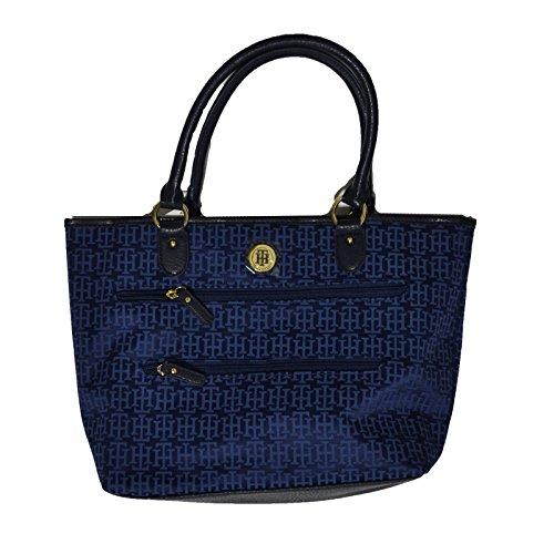 Tommy Hilfiger Shopper Double Zip Purse Blue