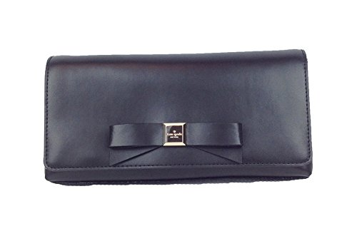Kate Spade Montford Park Smooth Leather Keira Clutch, Black