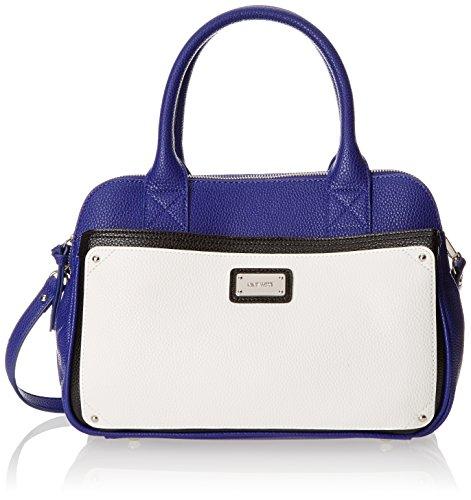 Nine West Double Vision Satchel Medium Top Handle Handbag