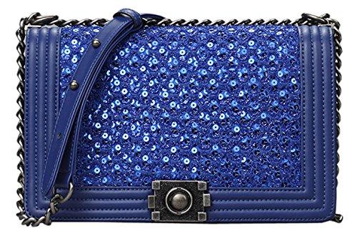 Yisihua Women's New Fashion Top Genuine Leather Handbag shoulder bag diagonal package
