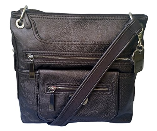 Tyler Rodan Montego Crossbody Bag Handbag, Pewter