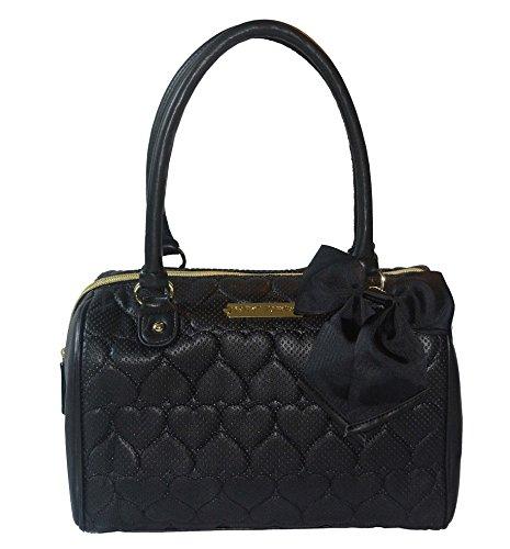 Betsey Johnson Perform Purse Satchel Shoulder Bag Handbag Tote Be Mine