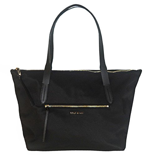 Cole Haan Parker Nylon Zip Top Shopper Tote Bag Handbag Purse Women's
