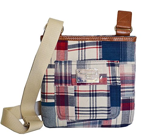 Tommy Hilfiger Women's/Girl's Xbody/Crossbody Handbag, Blue Plaid