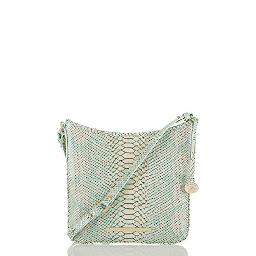 Brahmin Jody Leather Crossbody Bag Opal Seville