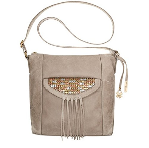 Lucky Brand Metal Works N/S Crossbody (Smoke)
